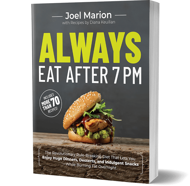 always eat after 7pm book cover vertical